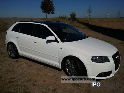 2008 audi a3 2 0 tdi sportback s line car photo and specs. Black Bedroom Furniture Sets. Home Design Ideas