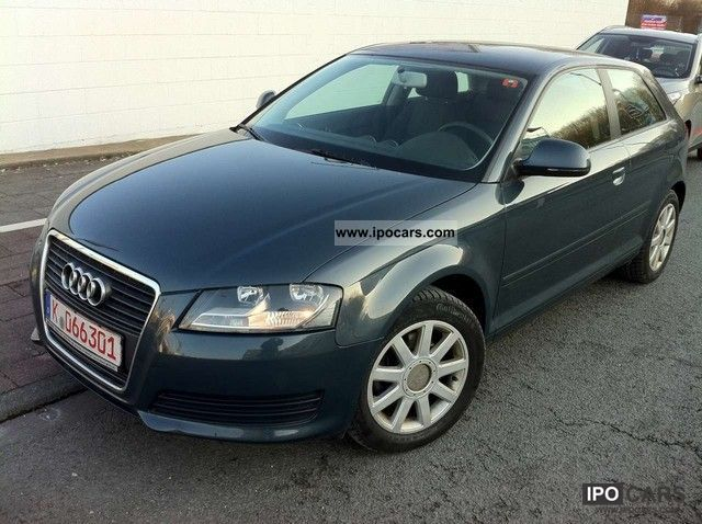 2009 audi a3 2 0 tdi dpf attraction car photo and specs. Black Bedroom Furniture Sets. Home Design Ideas