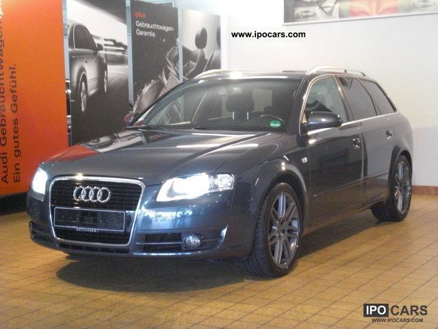 2007 audi a4 avant 2 0 tdi edition 6 speed 18 car. Black Bedroom Furniture Sets. Home Design Ideas