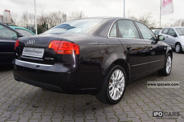 2007 audi a4 2 0 tdi i manual booklet check car photo and specs. Black Bedroom Furniture Sets. Home Design Ideas