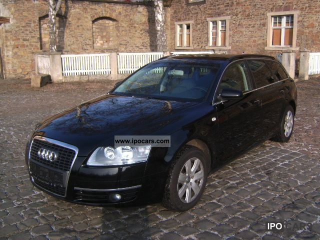 2007 audi a6 avant 2 7 tdi dpf navi car photo and specs. Black Bedroom Furniture Sets. Home Design Ideas