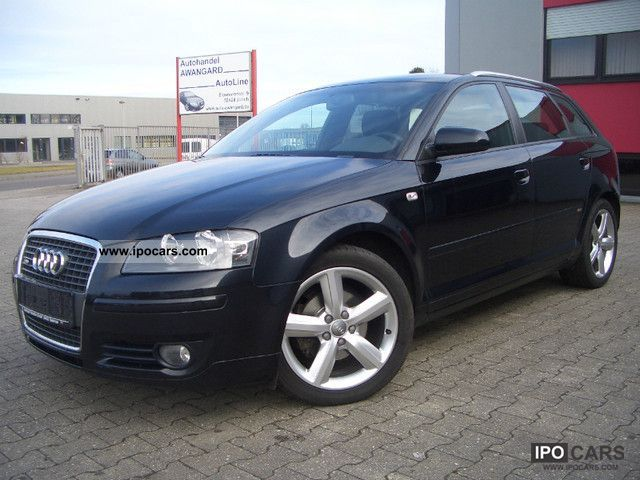 2007 Audi  A3 Sportback 1.9 TDI DPF S line sports package plus Estate Car Used vehicle photo