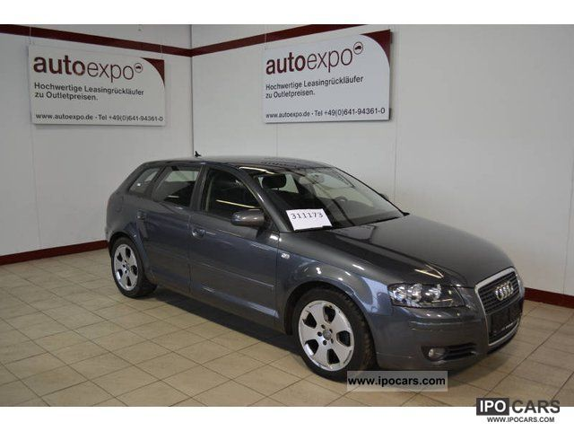 2007 audi a3 2 0 tdi sportback dpf ambition klimaaut car photo and specs. Black Bedroom Furniture Sets. Home Design Ideas