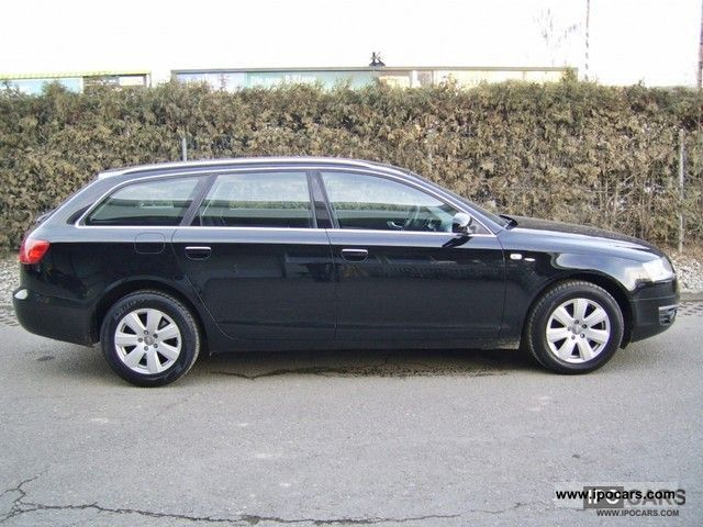 2007 audi a6 avant 2 0 tdi dpf car photo and specs. Black Bedroom Furniture Sets. Home Design Ideas