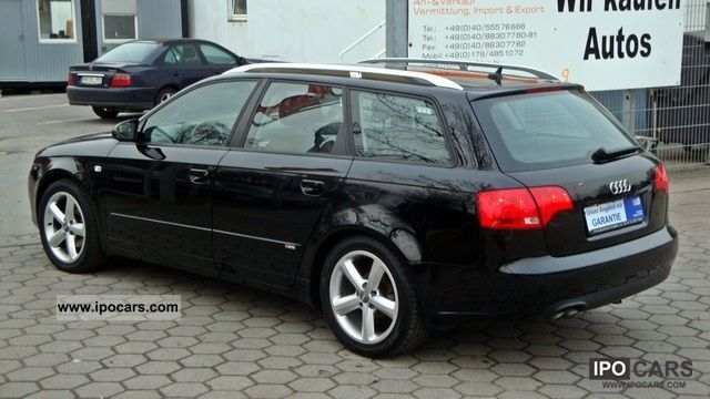2007 Audi A4 2 0 Tdi Dpf Avant S Line Sport Package Navigation Car Photo And Specs