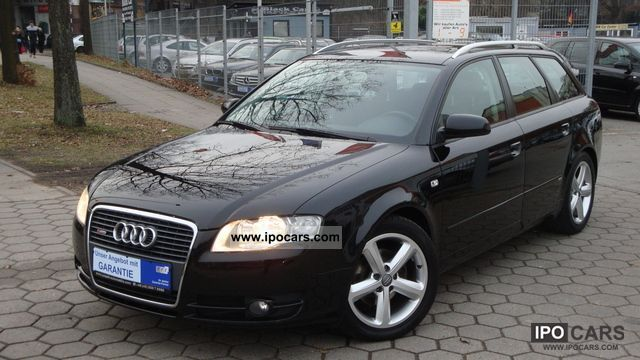 2007 audi a4 2 0 tdi dpf avant s line sport package. Black Bedroom Furniture Sets. Home Design Ideas