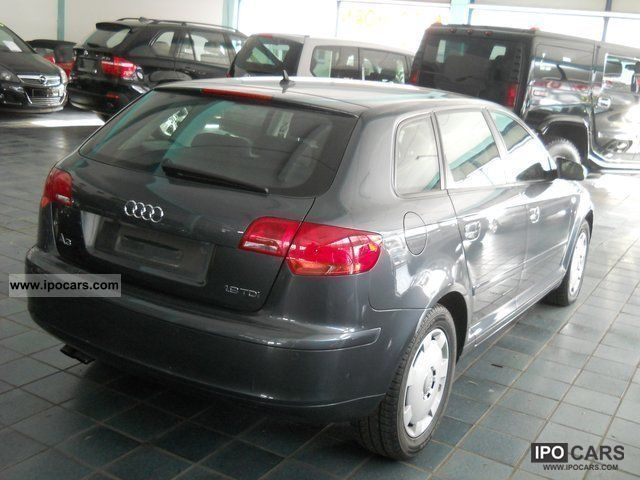 2006 audi a3 sportback 1 9 tdi attraction car photo and specs. Black Bedroom Furniture Sets. Home Design Ideas