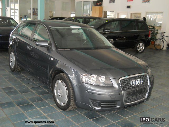 2006 Audi A3 Sportback 1.9 TDI Attraction - Car Photo and Specs 8e6a73eb994