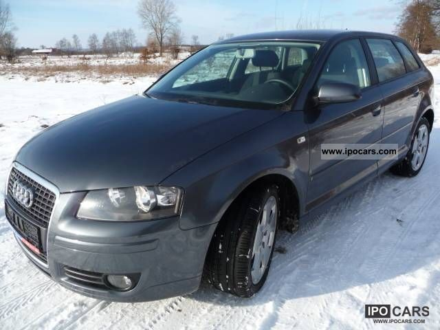 2006 audi 1 9tdi105km a3 sportback bezwypadkowa car photo and specs. Black Bedroom Furniture Sets. Home Design Ideas