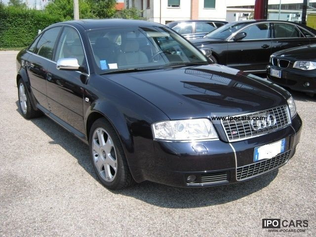 2001 Audi S6 4 2 V8 Quattro Cat Car Photo And Specs