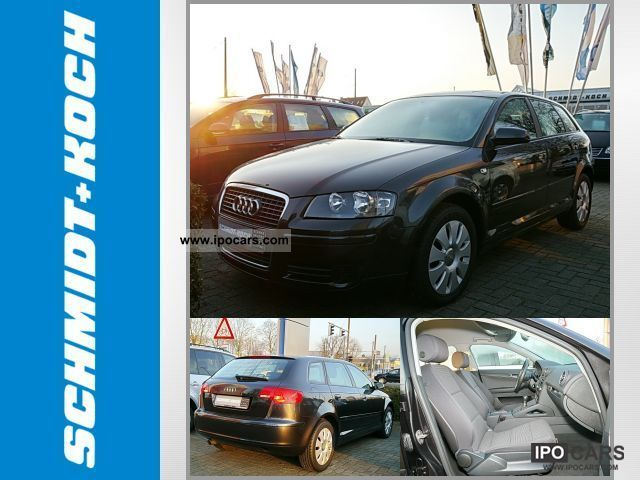 2008 Audi  A3 Sportback 1.6 Attraction (air) Limousine Used vehicle photo