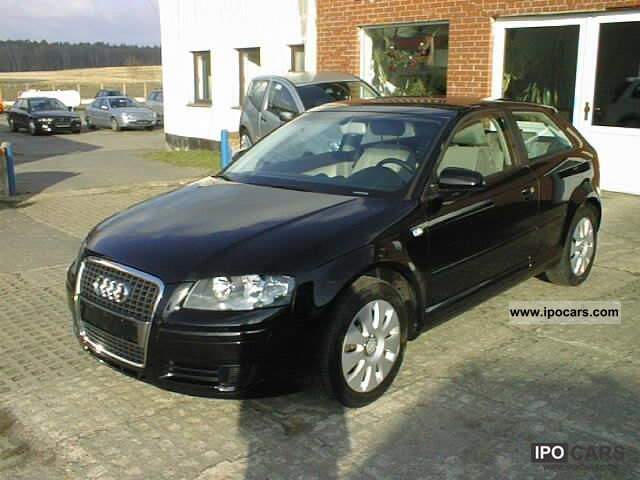 2006 audi a3 1 6 fsi attraction car photo and specs. Black Bedroom Furniture Sets. Home Design Ideas