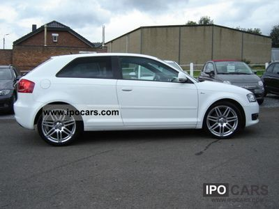 2008 audi a3 tdi s line ambition car photo and specs. Black Bedroom Furniture Sets. Home Design Ideas