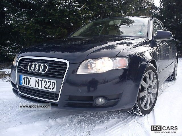 2006 audi a4 3 0 v6 tdi quattro manual car photo and specs. Black Bedroom Furniture Sets. Home Design Ideas