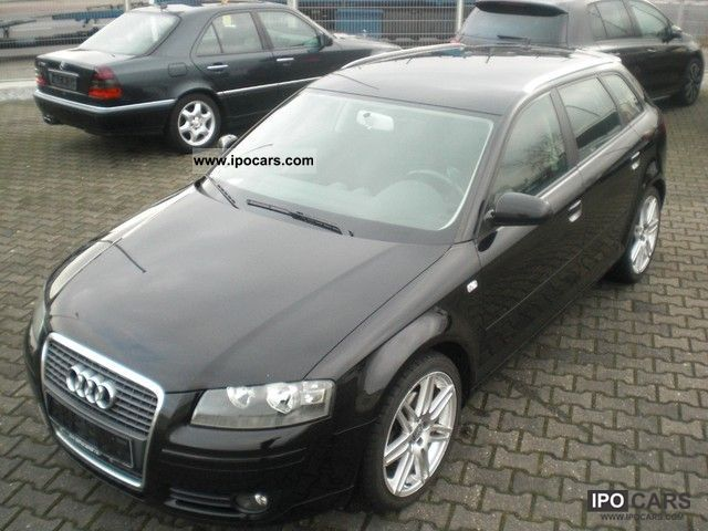 2007 audi a3 2 0 tdi sportback ambition navi 18 car photo and specs. Black Bedroom Furniture Sets. Home Design Ideas