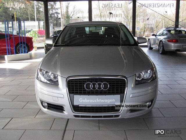 2008 Audi  A3 Sportback 1.9 TDI. DPF 1.Hnd Insp / toothed. New PDC Estate Car Used vehicle photo