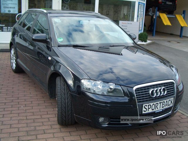 2007 audi a3 1 6 sportback car photo and specs. Black Bedroom Furniture Sets. Home Design Ideas