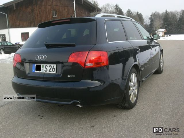 2007 audi a4 avant 3 0 tdi quattro s line vollausst car photo and specs. Black Bedroom Furniture Sets. Home Design Ideas