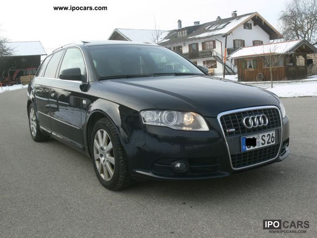 2007 audi a4 avant 3 0 tdi quattro s line vollausst car. Black Bedroom Furniture Sets. Home Design Ideas