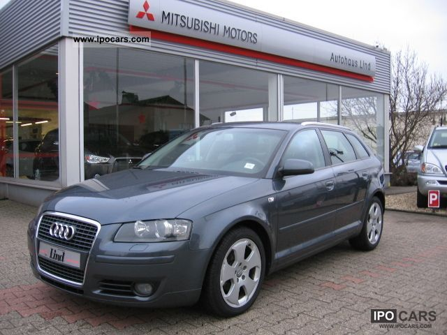 2004 audi a3 sportback 2 0 tdi ambition dsg 1 hand winterr d car photo and specs. Black Bedroom Furniture Sets. Home Design Ideas