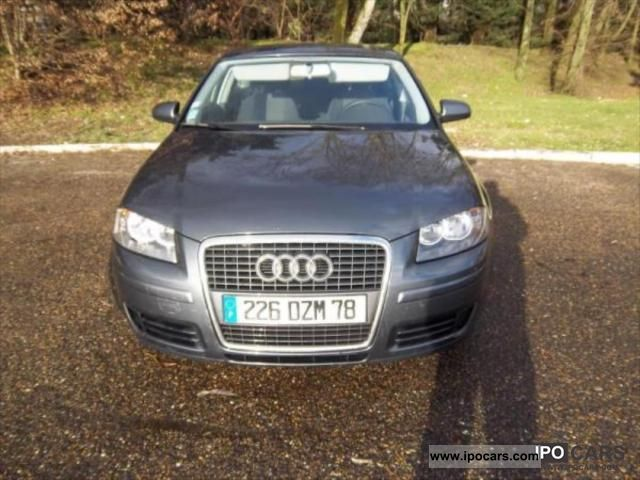 2007 audi a3 1 9 tdi 105 attraction car photo and specs. Black Bedroom Furniture Sets. Home Design Ideas