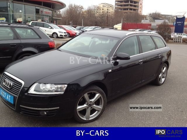 2008 Audi A6 Avant 2.0 TDI multitronic EXP 9750E - Car Photo and Specs