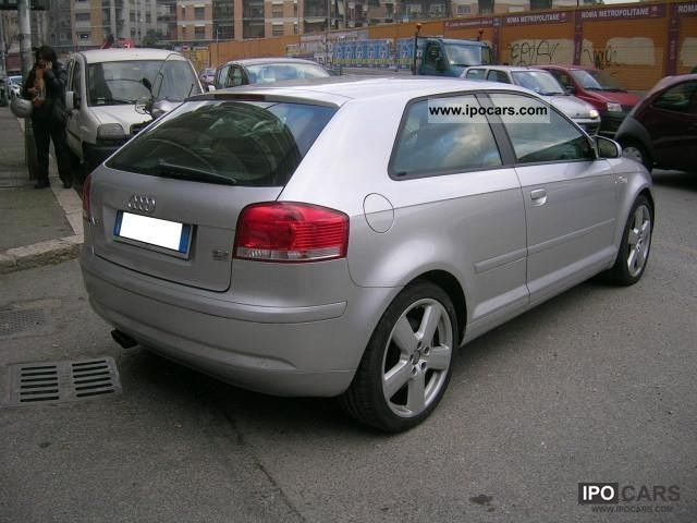 2005 Audi A3 3.2 quattro DSG Ambition - Car Photo and Specs