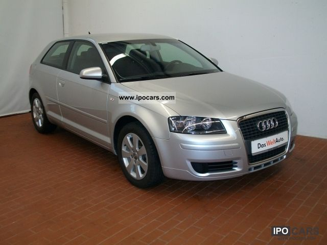 2006 audi a3 1 6 ambiente auto air car photo and specs. Black Bedroom Furniture Sets. Home Design Ideas