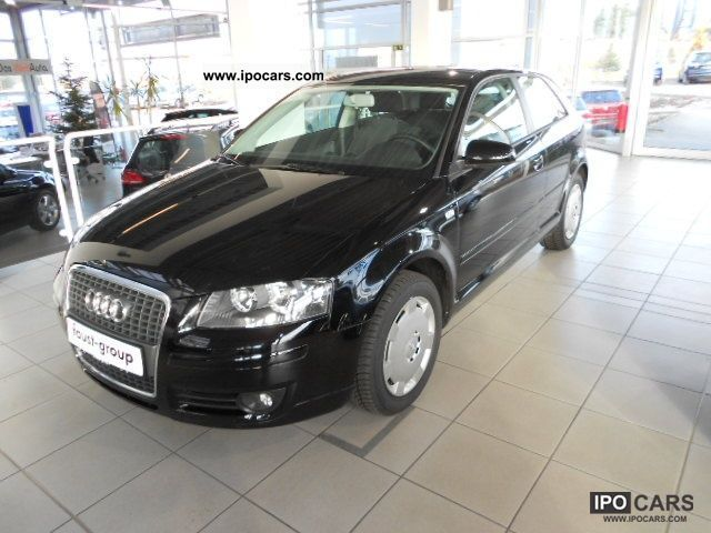2007 Audi  A3 Attraction 1.HAND SITZHEIZUNG (air) Limousine Used vehicle photo