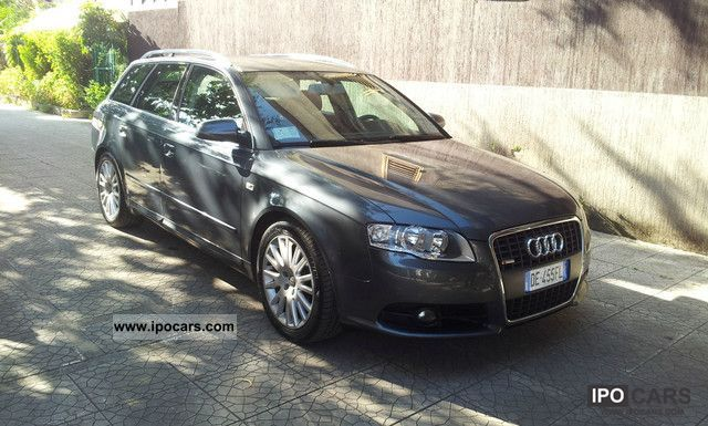 2006 audi a4 avant 2 7 tdi v6 multitronic s line car photo and specs. Black Bedroom Furniture Sets. Home Design Ideas