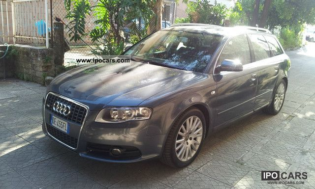 2006 audi a4 avant 2 7 tdi v6 multitronic s line car. Black Bedroom Furniture Sets. Home Design Ideas