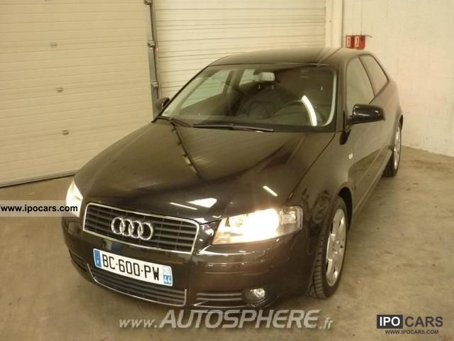 2004 audi a3 2 0 dsg tdi140 ambition luxe car photo and. Black Bedroom Furniture Sets. Home Design Ideas