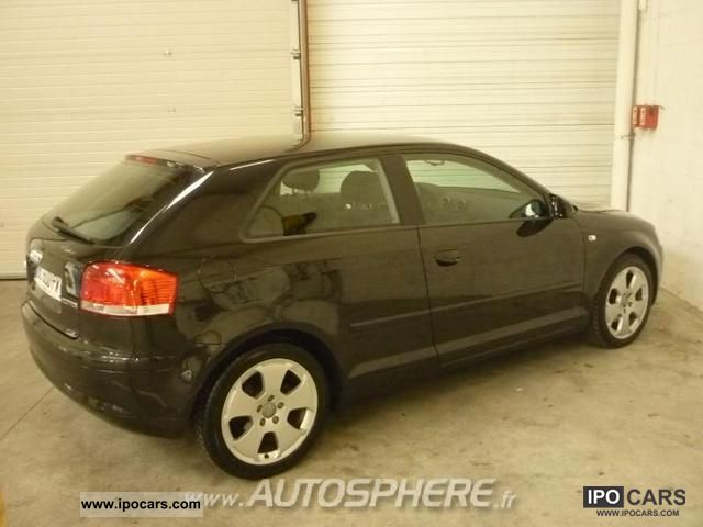 2004 audi a3 2 0 dsg tdi140 ambition luxe car photo and specs. Black Bedroom Furniture Sets. Home Design Ideas