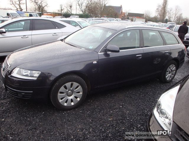 2008 Audi A6 2.0 TDI break Estate Car Used vehicle photo 1