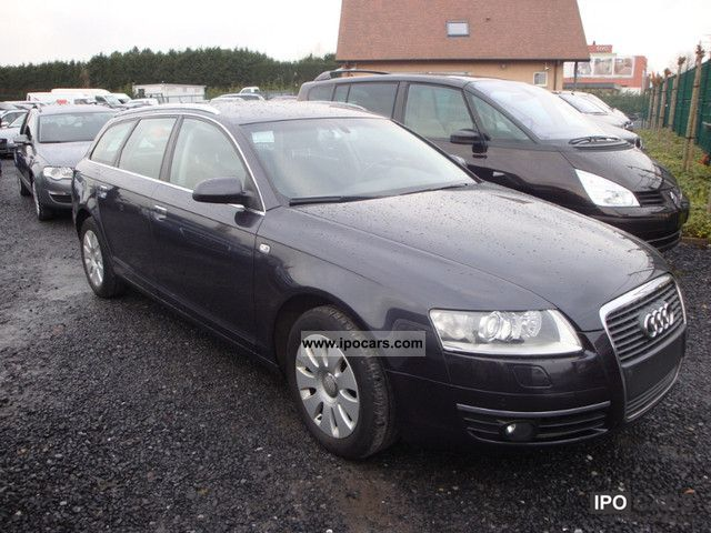 2008 audi a6 2 0 tdi break car photo and specs. Black Bedroom Furniture Sets. Home Design Ideas
