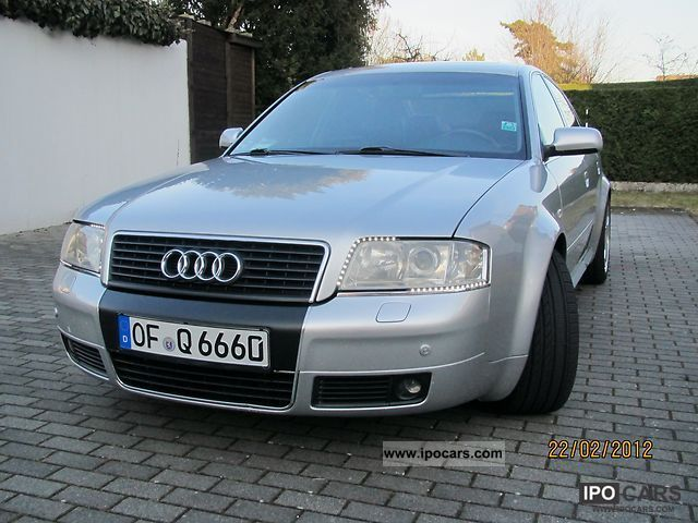 1999 Audi  A6/S6 quattro LPG Vollauschtatung Limousine Used vehicle photo