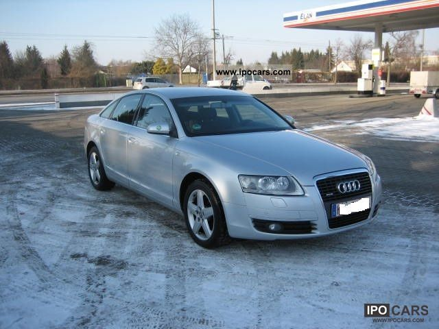 2007 audi a6 3 2 fsi quattro tiptronic car photo and specs. Black Bedroom Furniture Sets. Home Design Ideas