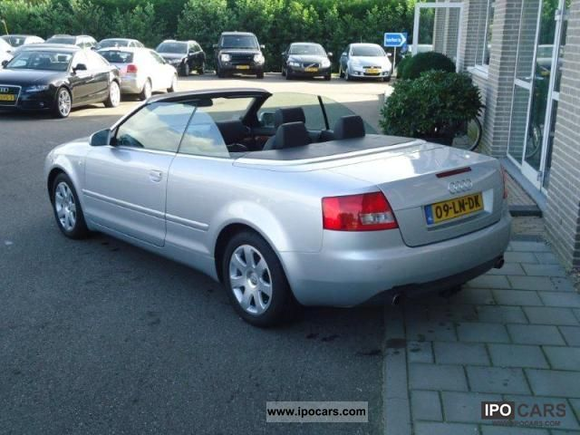 2003 audi a4 2 5 v6 tdi exclusive car photo and specs. Black Bedroom Furniture Sets. Home Design Ideas