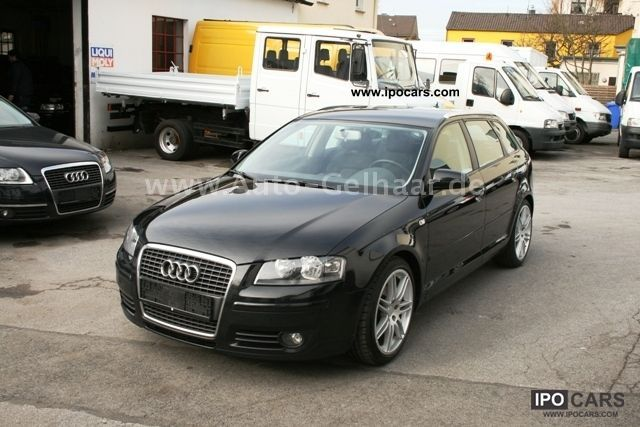 2007 audi a3 2 0 tdi sportback dpf navi large 18 car photo and specs. Black Bedroom Furniture Sets. Home Design Ideas
