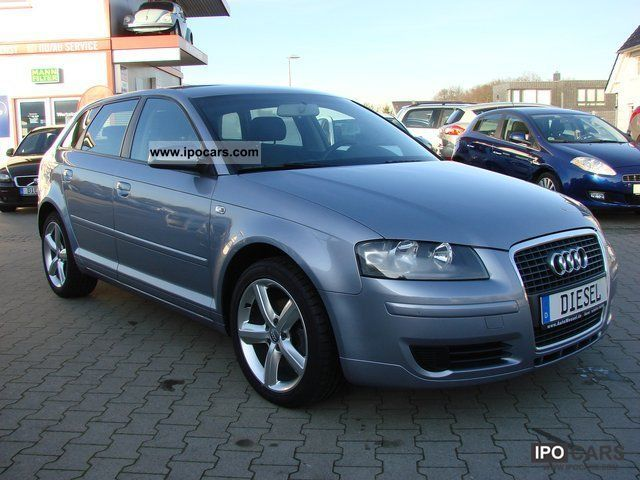 2007 audi a3 1 9 tdi sportback s line lm shz car photo and specs. Black Bedroom Furniture Sets. Home Design Ideas