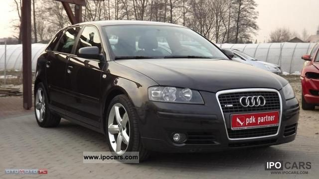 2006 audi a3 sportback 2 0 tdi s line car photo and specs. Black Bedroom Furniture Sets. Home Design Ideas