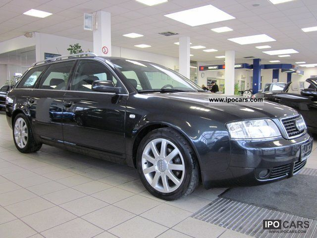 2003 Audi  A6 1.8 T S-Line Navi Automatic Combination - PDC - APC Estate Car Used vehicle photo