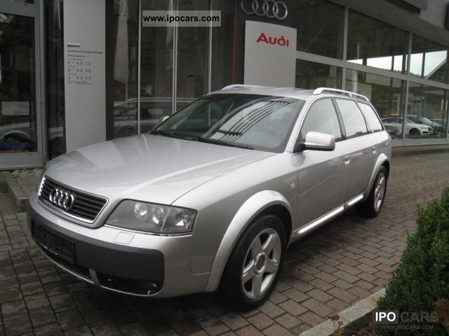 2003 audi a6 allroad 2 5 tdi quattro navigation car photo and specs. Black Bedroom Furniture Sets. Home Design Ideas