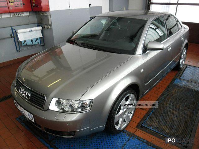 2003 Audi  A4 3.0 quattro Tiptronic, GSP + vo hi, Klimaaut. Limousine Used vehicle photo