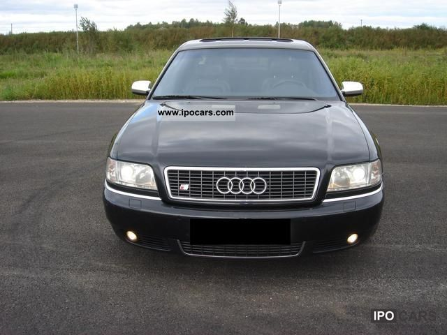 2000 Audi  S8 4.2Q * extras * all * original * state accident Limousine Used vehicle photo