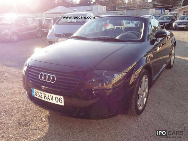 2001 Audi  TT Roadster 1.8 T 180 Sports car/Coupe Used vehicle photo