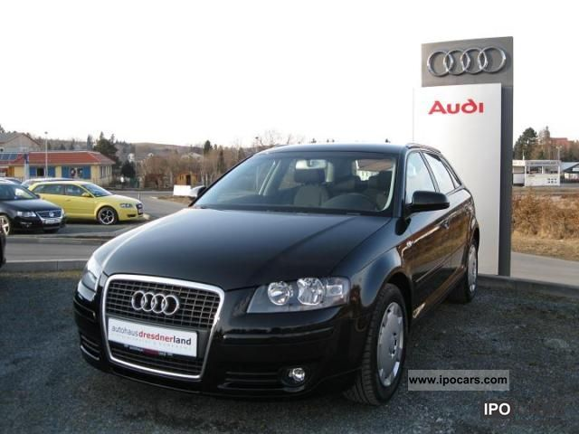 2006 audi a3 sportback 1 9 tdi dpf attraction climate. Black Bedroom Furniture Sets. Home Design Ideas
