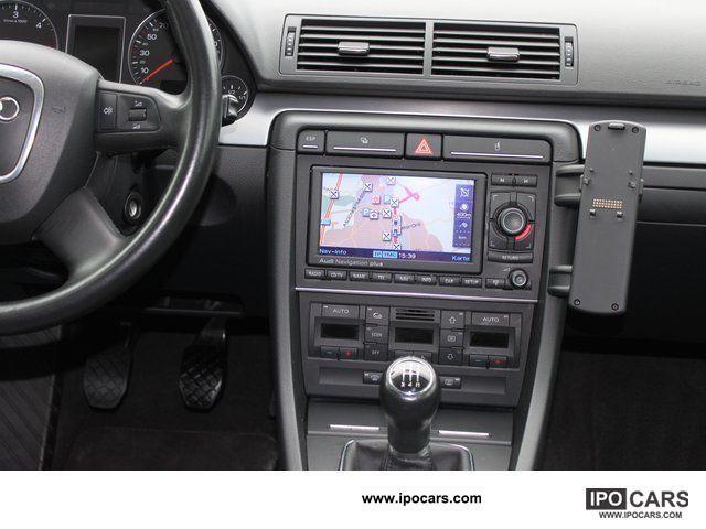2007 audi a4 1 9 tdi navigation system with color. Black Bedroom Furniture Sets. Home Design Ideas