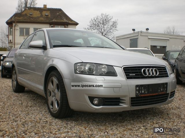 2004 Audi  A3 3.2 quattro DSG Leather Navi Xenon MMI Vollauss Limousine Used vehicle photo