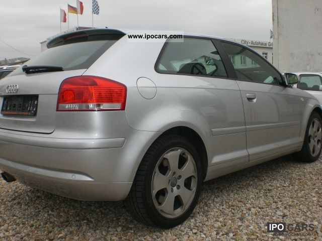 2004 audi a3 3 2 quattro dsg leather navi xenon mmi vollauss car photo and specs. Black Bedroom Furniture Sets. Home Design Ideas